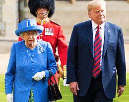 Donald Trump jeszcze dziś spotka się z królową Elżbietą II. Czy uda mu się uniknąćwpadki?
