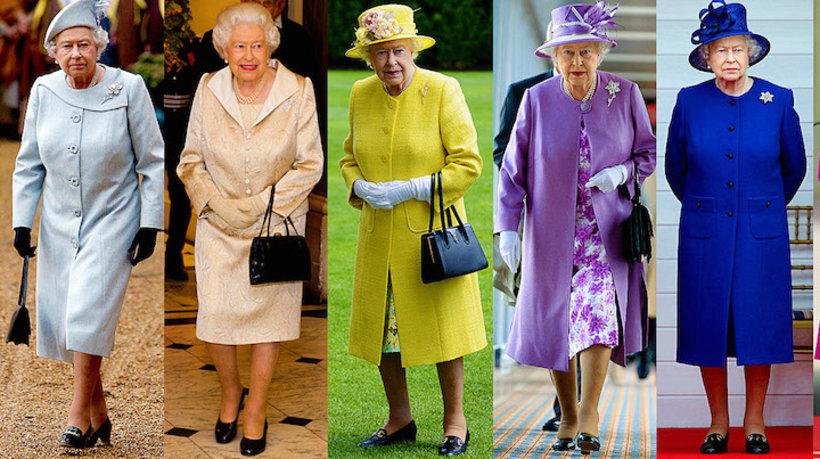Królowa Elżbieta II styl