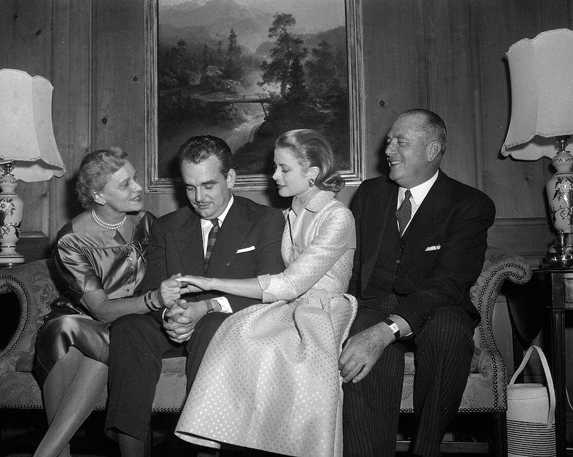 Książę Rainer III poprosił Grace Kelly o rękę