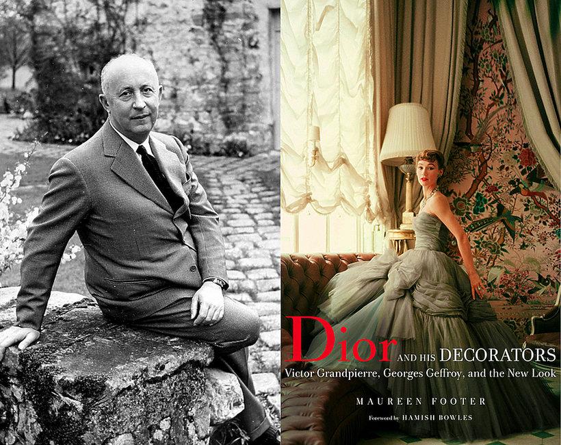 "Książka album ""Dior and his Decorators"" autorstwa historyczki designu Maureen Footer"