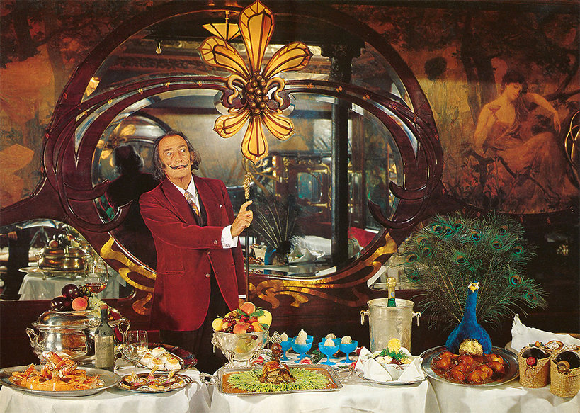 Książka kucharska króla surrealistów, Salvadora Dali