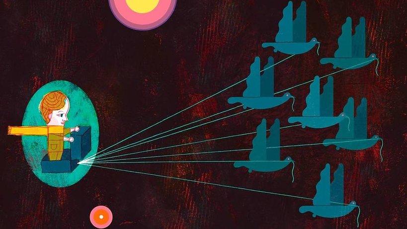 """Książka """"Mały Książę"""" Antoine'a de Saint-Exupéry nowe wydanie Znak z ilustracjami Pawła Pawlaka"""