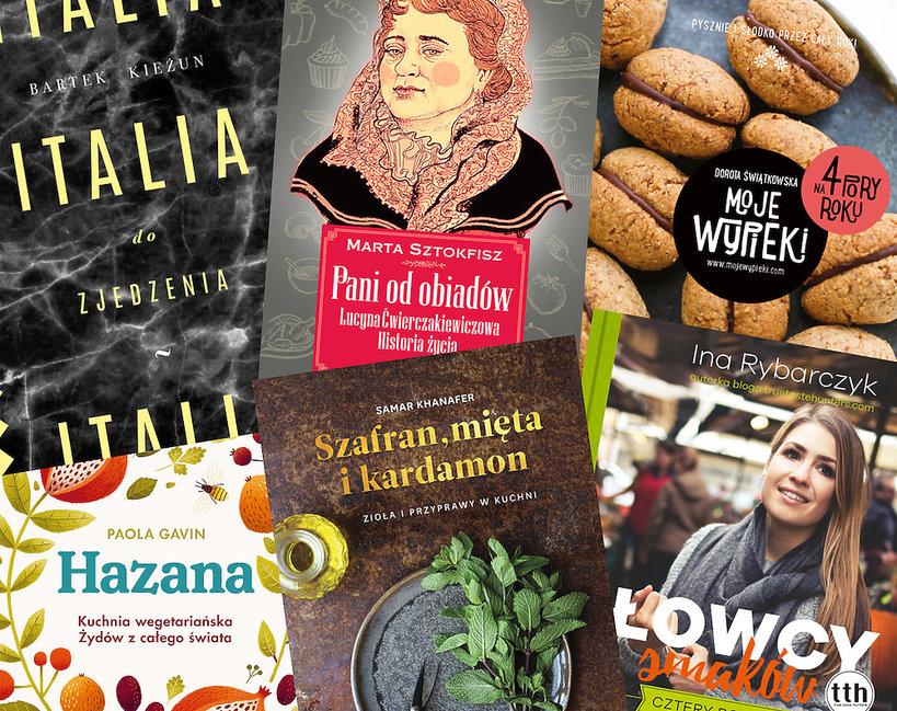Książki kulinarne premiera jesień listopad 2018