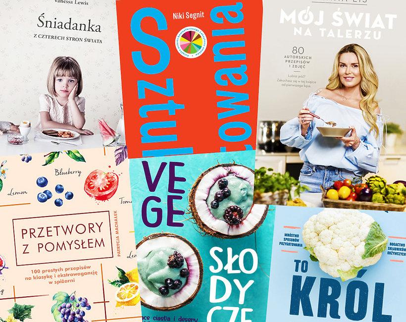 książki o kuchni i gotowaniu nowości premiery lato 2019