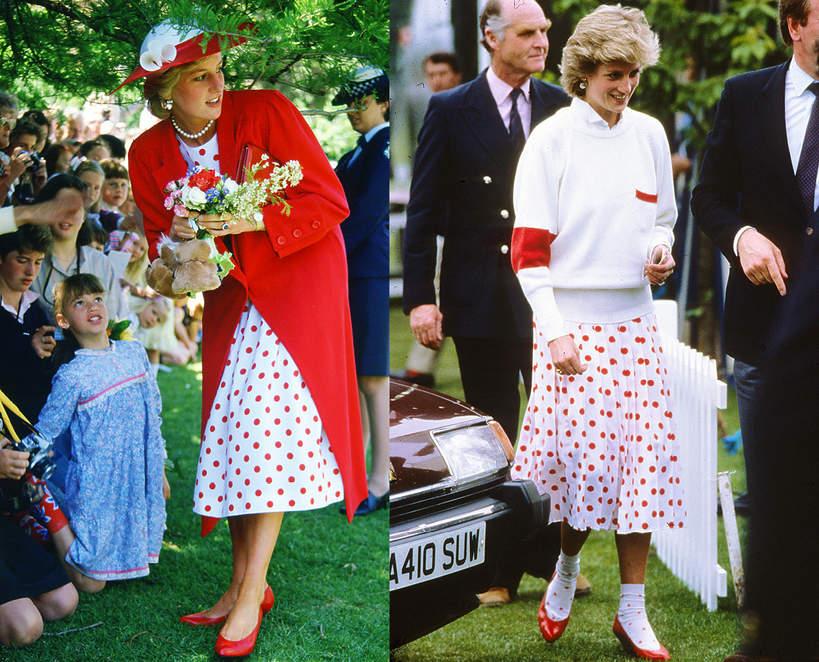 Księżna Diana przerabiała swoje ubrania