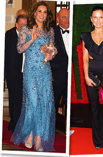 Księżna Kate, Anna Lewandowska, Melania Trump, Brigitte Macron