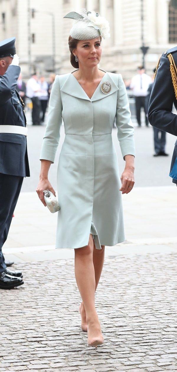 Księżna Kate na obchodach setnej rocznicy istnienia Royal Air Force w Westminster Abbey