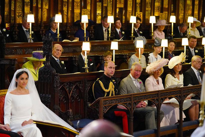 Księżna Kate na ślubie Meghan Markle i księcia Harry'ego