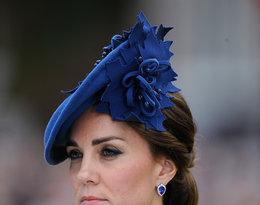 Księżna Kate nakrycia głowy kapelusze