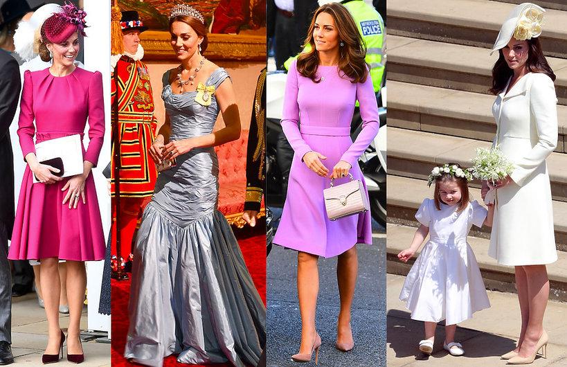 Księżna Kate stylizacje 2018 rokuKsiężna Kate stylizacje 2018 roku