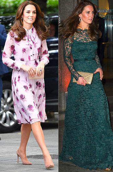 Księżna Kate stylizacje