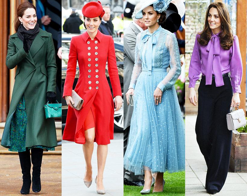 Księżna Kate urodziny styl