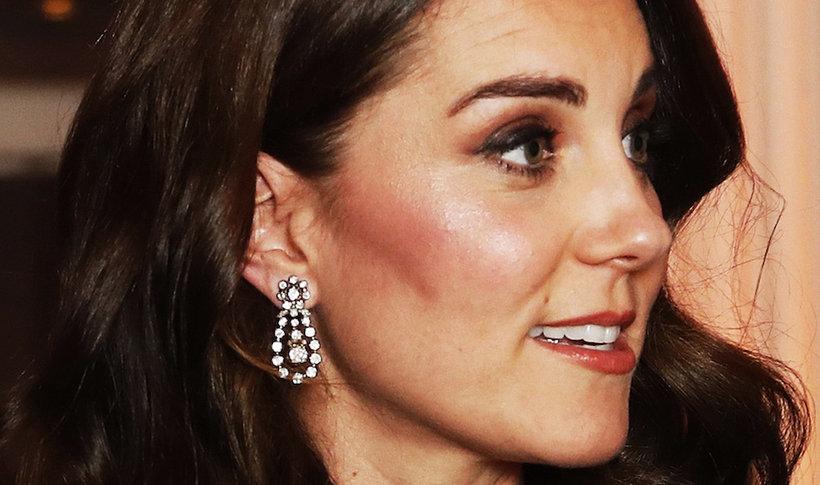 Księżna Kate w biżuterii należącej do  królowej Elżbiety II