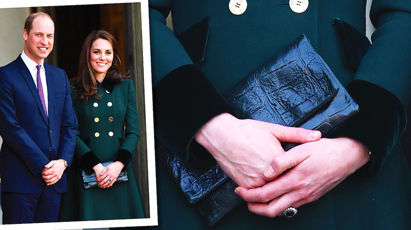 Księżna Kate we Francji z torebką polskiej marki