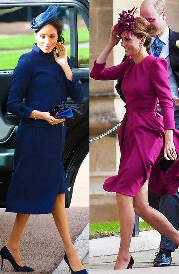 Księżna Meghan i Kate na śluie księżniczki Eugenii