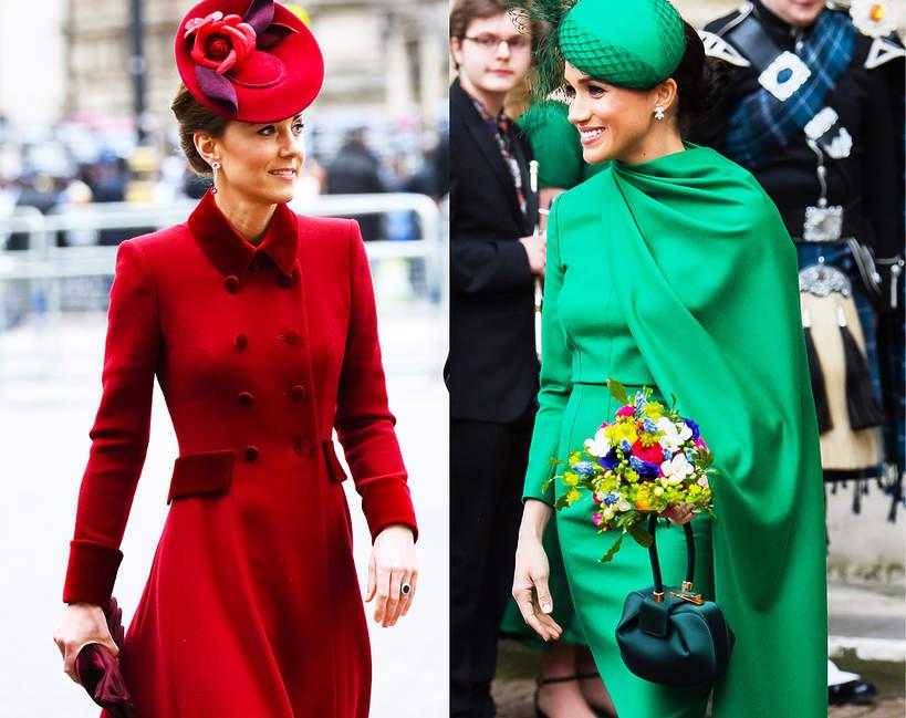 Księżna Meghan księżna kate pojedynek na styl