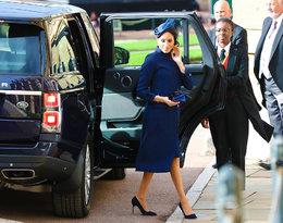 Księżna Meghan na śluie księżniczki Eugenii