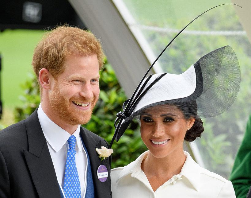 Księżna Meghan po raz pierwszy pojawiła się na wyścigach Royal Ascot