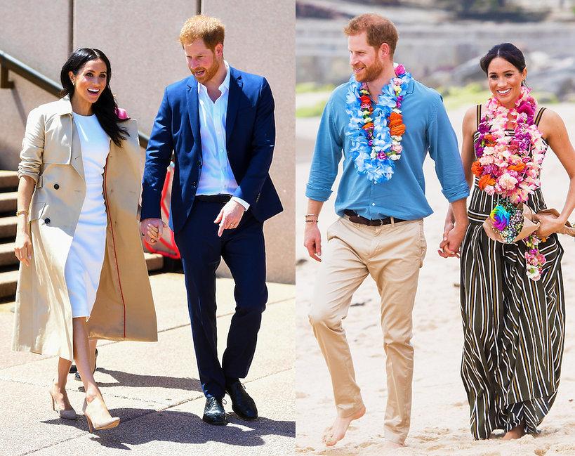Księżna Meghan podczas wizyty w Australii nosi rzeczy australijskich projektantów