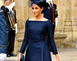 Szykowna księżna Meghan w kreacji Diora na uroczystości w Westminster Abbey!