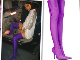 Kylie Jenner, buty Balenciaga