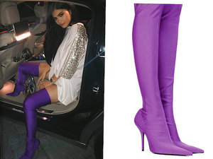 Kylie Jenner,Joanna Horodyńska buty Balenciaga