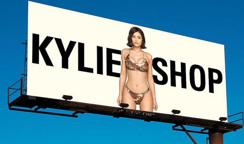 Kylie Jenner oskarżona o plagiat