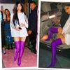 Kylie Jenner w butach Balenciaga