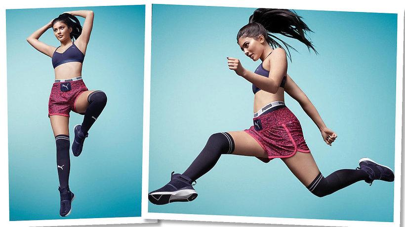 Kylie Jenner w kampanii marki Puma