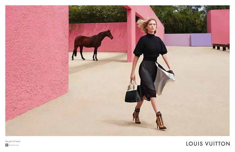 Léa Seydoux w najnowszej kampanii Louis Vuitton