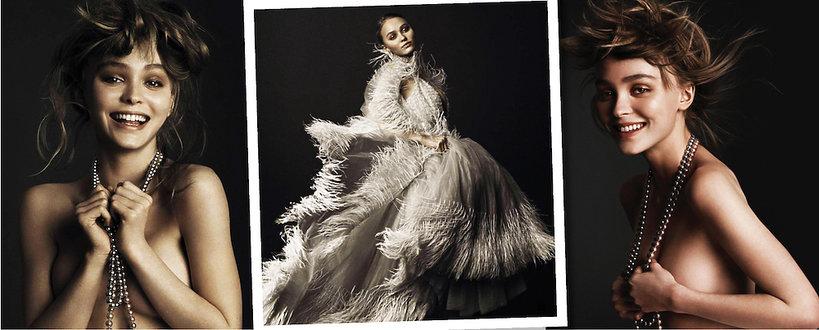 Lily-Rose Dep sesja w magazynie Vogue