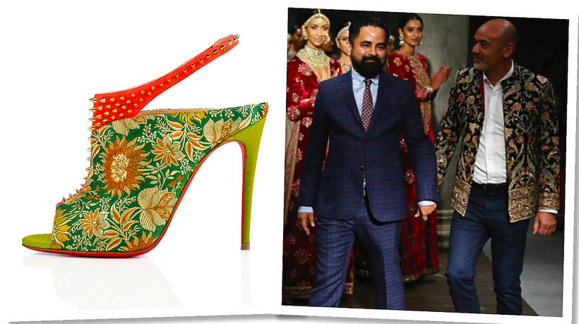 Limitowana kolekcja butów Christian Louboutin x Sabyasachi Mukherjee