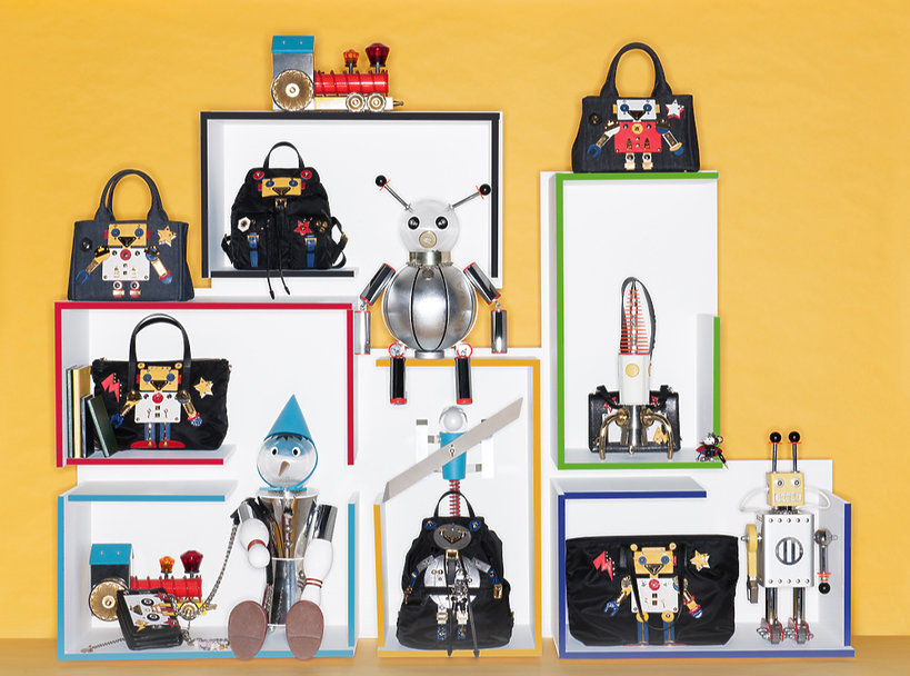 Limitowana kolekcja torebek domu mody Prada