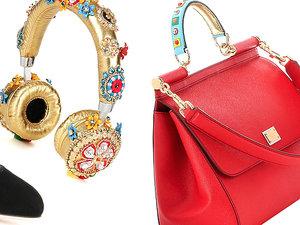 Linia dodatków Dolce & Gabbana zaprojektowana dla sklepu internetowego mytheresa.com