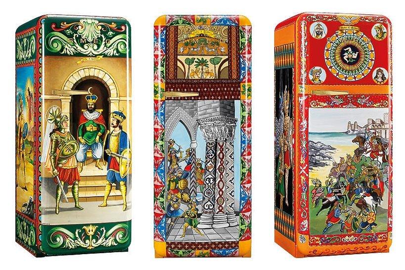 Lodówka Dolec & Gabbana dla marki Smeg