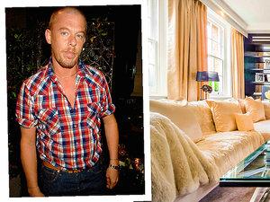 Londyński dom należący do Alexandra McQueena wystawiony na na sprzedaż