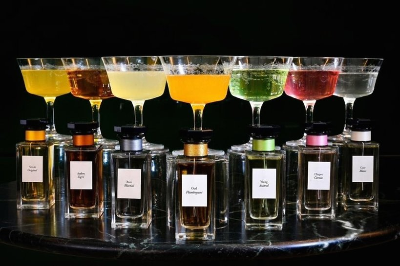 Londyński Hotel Café Royal serwuje drinki inspirowane perfumami Givenchy