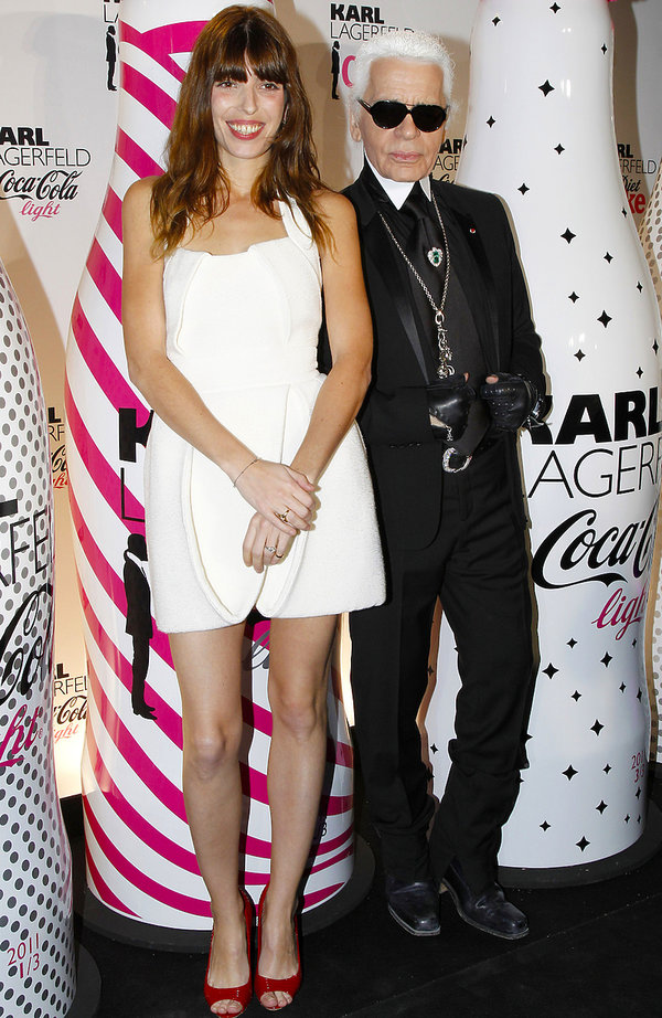 Lou Doillon wspomina Karla Lagerfelda