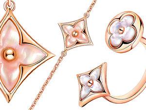 Louis Vuitton kolekcja biżuterii Color Blossom