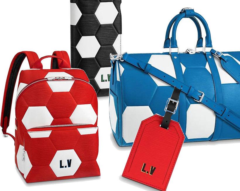 Louis Vuitton kolekcja na Mistrzostwa Świata w Piłce Nożnej Mundial 2018