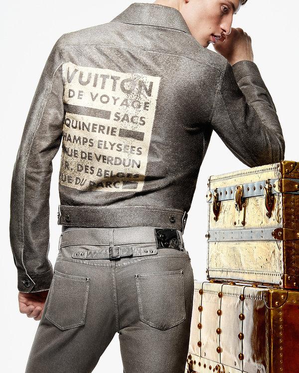 Louis Vuitton wprowadza stałą kolekcję męskich dżinsów