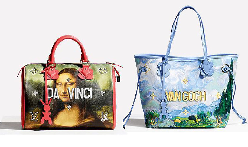 Louis Vuitton x Jeff Koons kolekcja