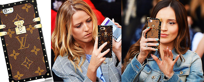 Luksusowe etui na telefon Louis Vuitton, Jessica Mercedes, Marina Łuczenko-Szczęsna