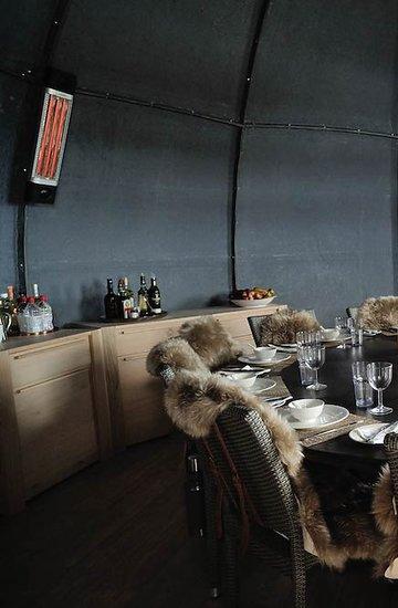 Luksusowy ośrodek Whichaway Camp na Antarktydzie