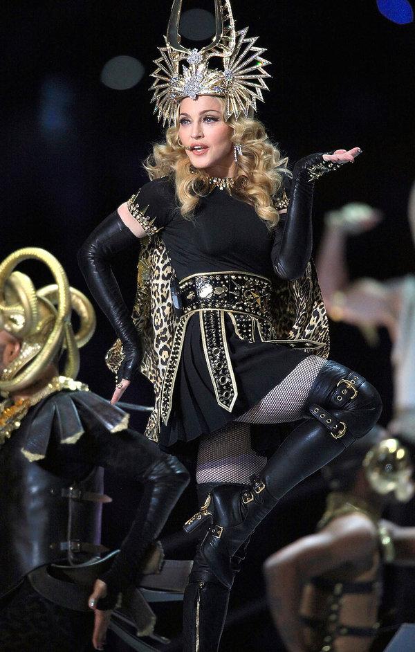 Madonna w kreacji Givenchy