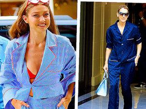 Maffashion, Gigi Hadid, Celine Dion w piżamie