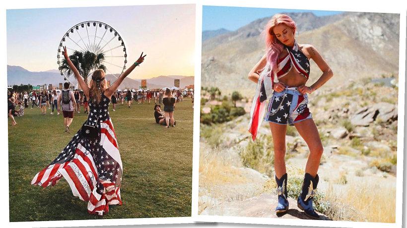 Maffashion, Jessica Mercedes na Coachella 2017