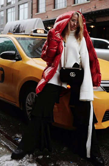Maffashion, Jessica Mercedes na nowojorskim Tygodniu Mody