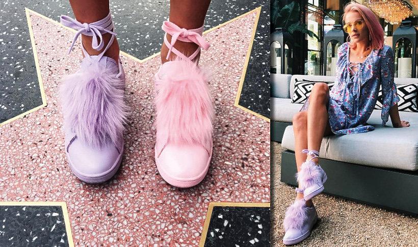 Maffashion w butach  zaprojektowanch przez Reebok i polską markę Local Heroes