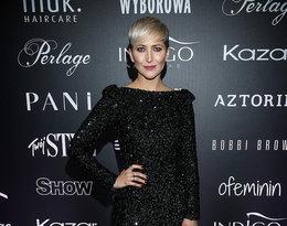 """Magda Steczkowska na pokazie kolekcji Roberta Kupisza na zimę 2018/19  """"Crown"""""""